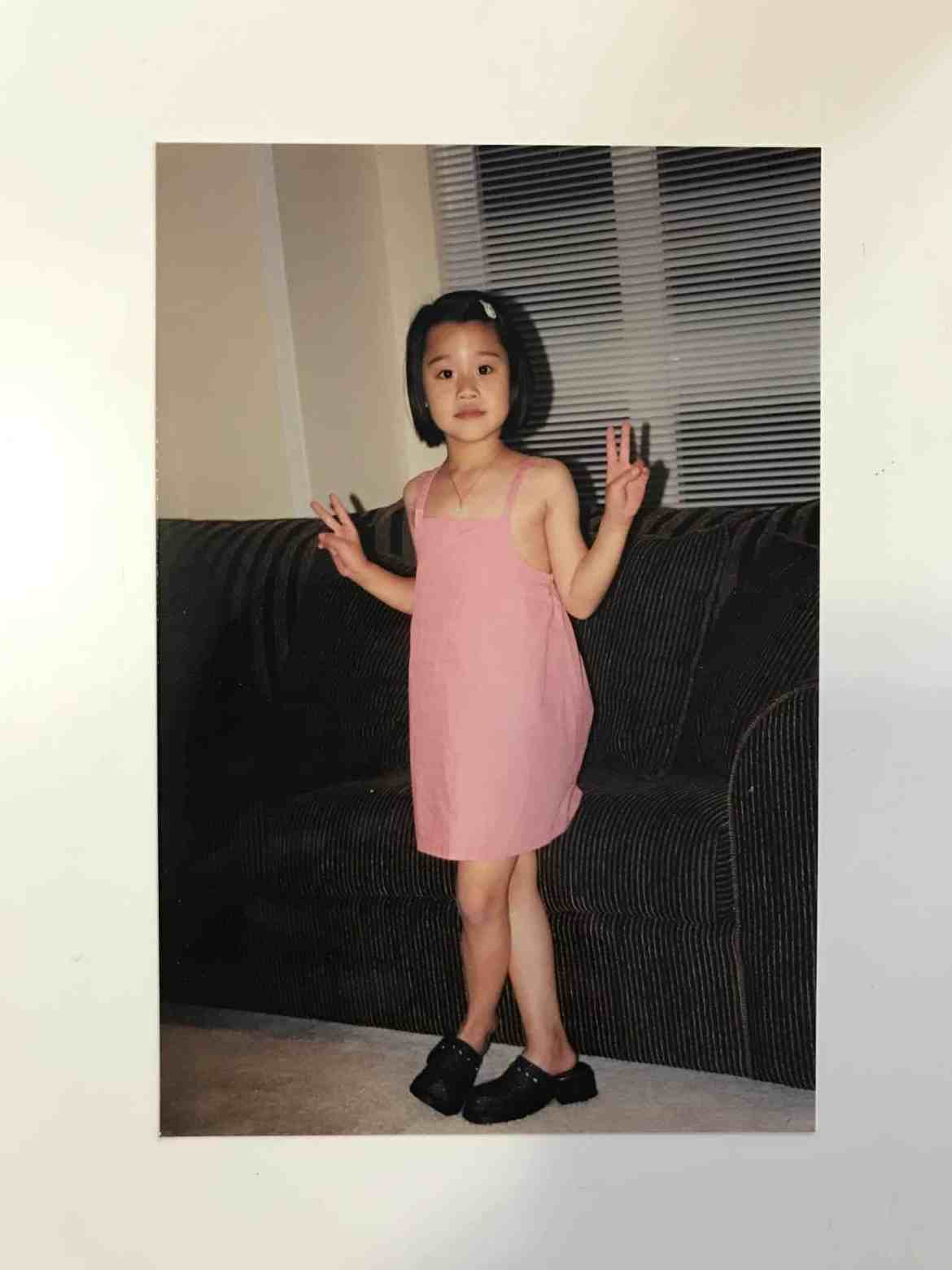 Young Angel Zheng from the past
