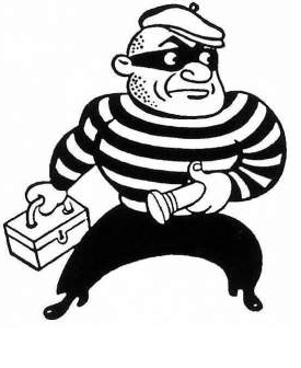 Intermediate vocabulary exercise: words related to theft
