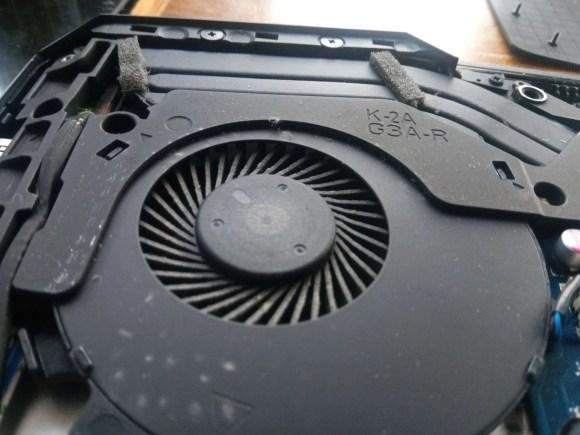 HP Omen fan cleaning