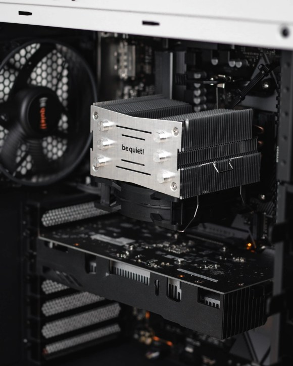 Different parts build a PC together