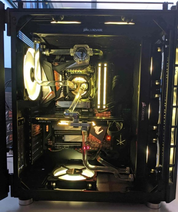 water cooling in a gaming pc