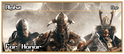 Cabecera [Alpha] For Honor