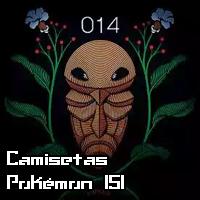 Camisetas pokémon de corte adulto: Pokémon 151