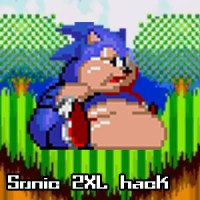 Sonic The Hedgehog 2 hack o engordando a Sonic