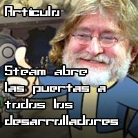Steam abre las puertas a todos los desarrolladores