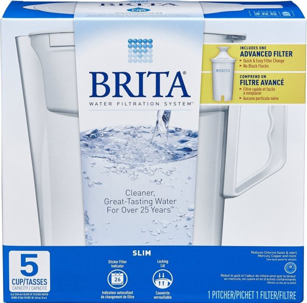 Brita Slim Water Filter – 5 Cups