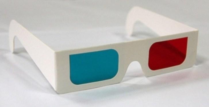 самодельные 3д очки