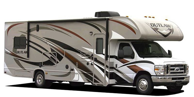 Full Specs For 2016 Thor Motor Coach Outlaw 29H RVs