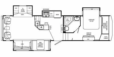 Specs for 2008 Fifth Wheel Holiday Rambler Alumascape RVs