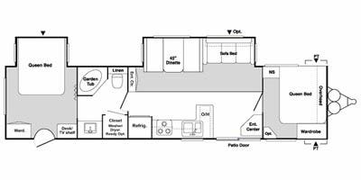 Specs for 2008 Travel Trailer Keystone Springdale RVs