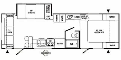 Specs for 2008 Travel Trailer R-Vision Max-Lite RVs