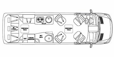 Full Specs for 2011 Airstream Interstate 3500 Lounge RVs