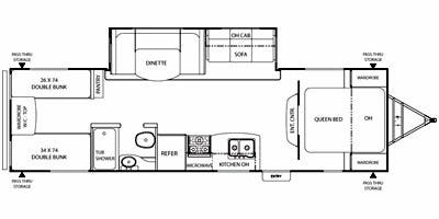 Full Specs for 2012 Coachmen Freedom Express 292BHDS RVs