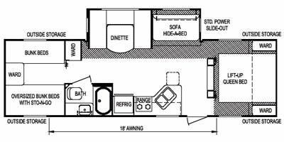 Specs for 2011 Travel Trailer Skyline Nomad Joey RVs