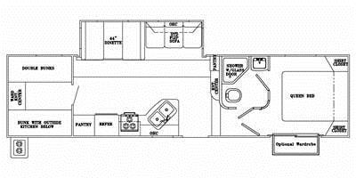Full Specs for 2012 Yellowstone RV Canyon Trail XLT 32FRTG