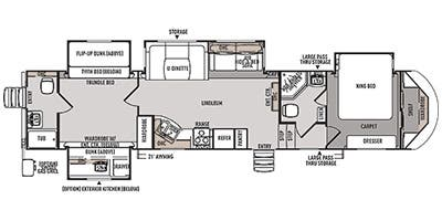 Specs for 2014 Travel Trailer Forest River Wildwood