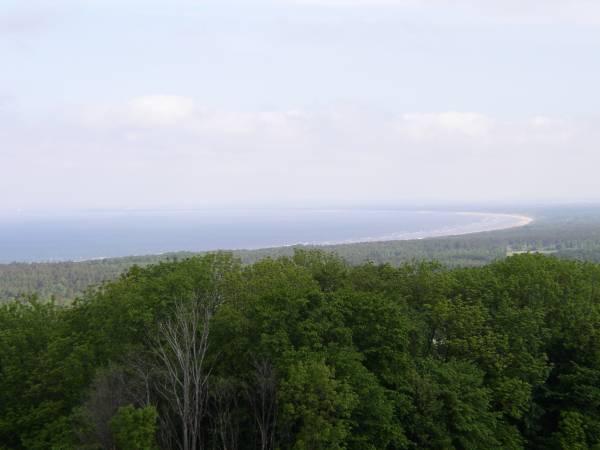 Utsikt från Utsikten, strax utanför Båstad.