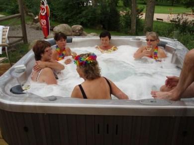 Susannor i badet.