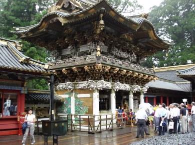 Denna helgedom byggdes 1617 som ett mausoleum åt Ieyasu Togukawa.