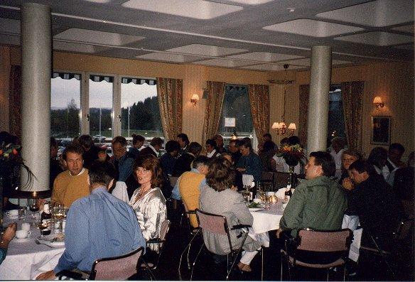 Middag på hotellet
