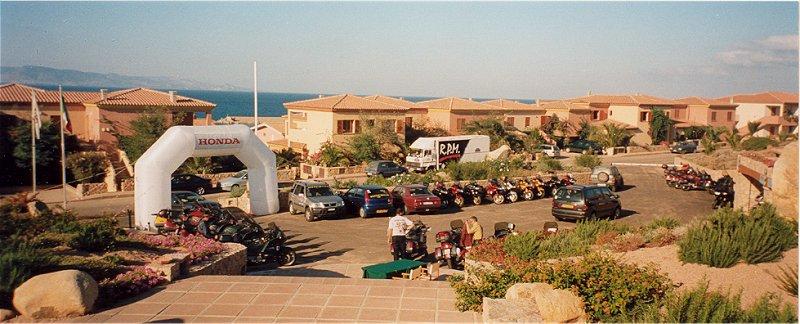 Parkeringen på Sardinien
