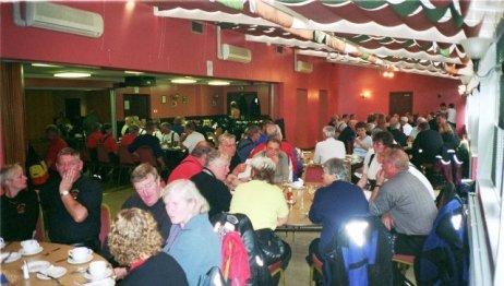 Middag tillsammans med medlemmar från Skotska Pan-Clan i Inverness.