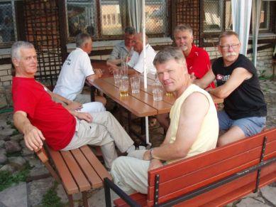 Efter en mycket varm tur från Tallinn till Riga smakade ölen som bäst.