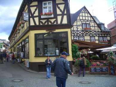 Vandring genom Rudesheim