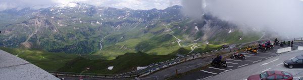 Från toppen bjöds man på fantastisk utsikt och granna vyer.