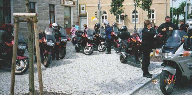 Sista stoppet innan vi kom fram till Alexisbad. Bilden insänd av Olle Anselius