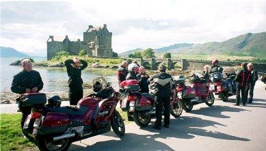 Lite kulturella var vi också. Här vid Eilean Donan Castle, ett av Skottlands mest romantiska slott.