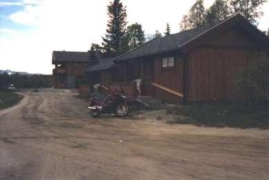 Så här såg hytten ut