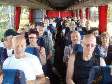 Bussen tar oss till Auswitch.
