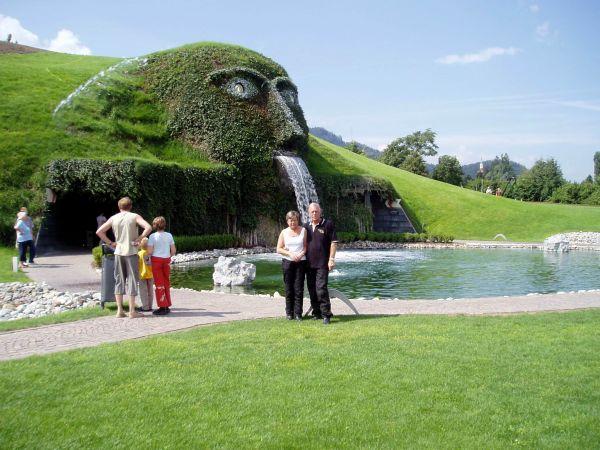 Ett besök vid Swarovskis kristallfabrik i Wattens hann nog de flesta också med.
