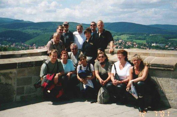 Några som har kikat på utsikten över Harzbergen från ett gammalt slott. Bilden insänd av Olle Anselius