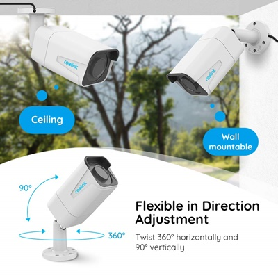 Reolink 4K Ultra HD 8MP POE IP Security Camera B800 manual adjustment