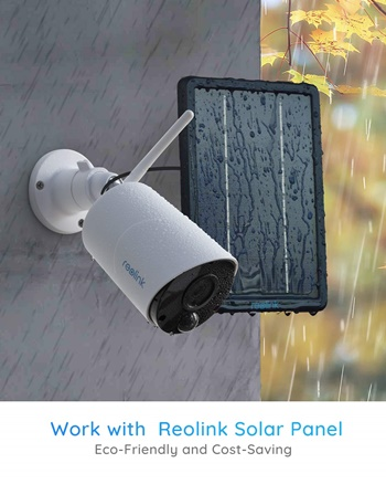 Reolink Argus Eco with solar cell