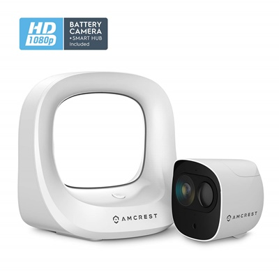 Amcrest wire-free security camera system
