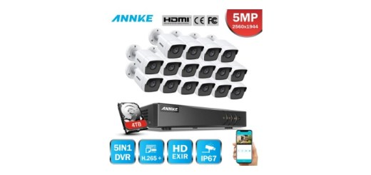 Annke 16 channel dvr system