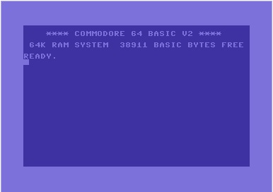 Ekran startowy C64 - kto pamięta?