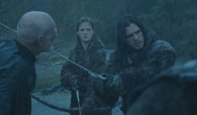 Um, could you get this over with? Your blade is a lot sharper than that warg guy's knife.