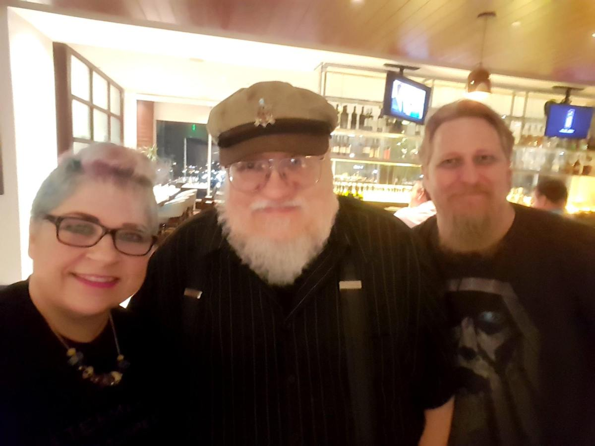 Chooch and Viv with George R. R. Martin