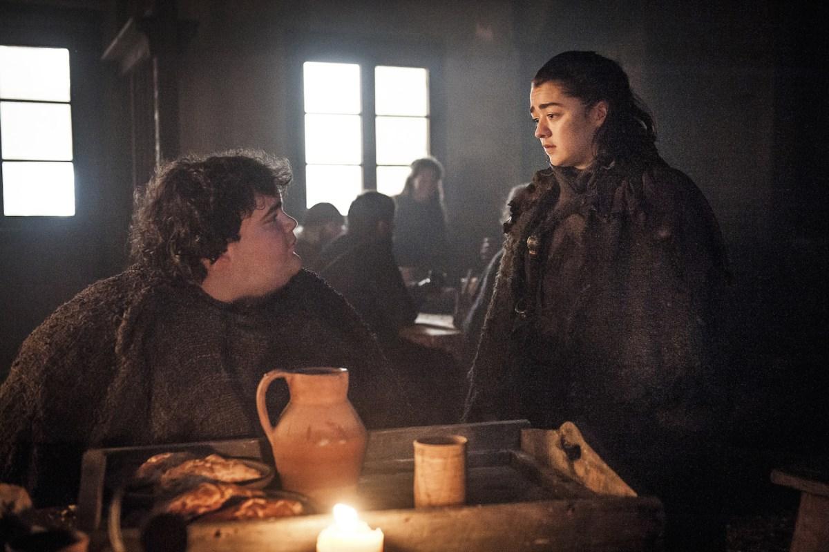 Arya and Hot Pie