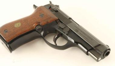 Browning BDA .380 pistol
