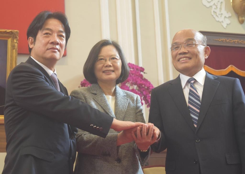 臺灣「次世代の指導者」が首相辭任 蔡総統,黨內政局にも配慮必要に - 産経ニュース