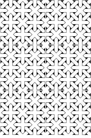 - Crossed Pattern
