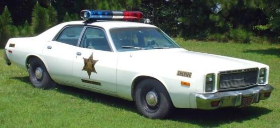 dukes of hazzard police cars