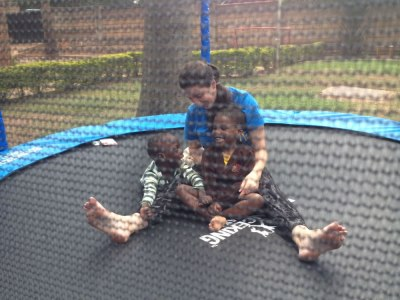 We Love The Trampoline