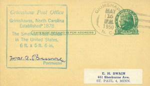 U.S. Postal Card