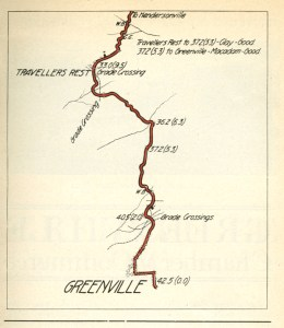 Greenville to Hendersonville, 1916 (click to enlarge)